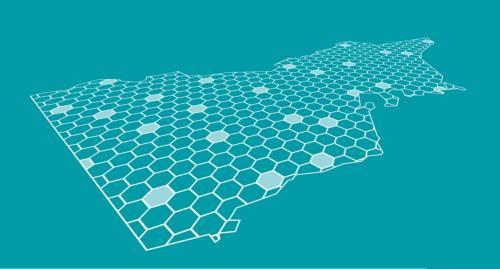 A honeycomb map of Victoria