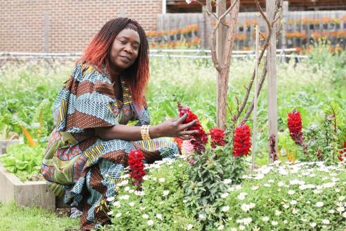 Mama Veronica, a participant in the Ubuntu project